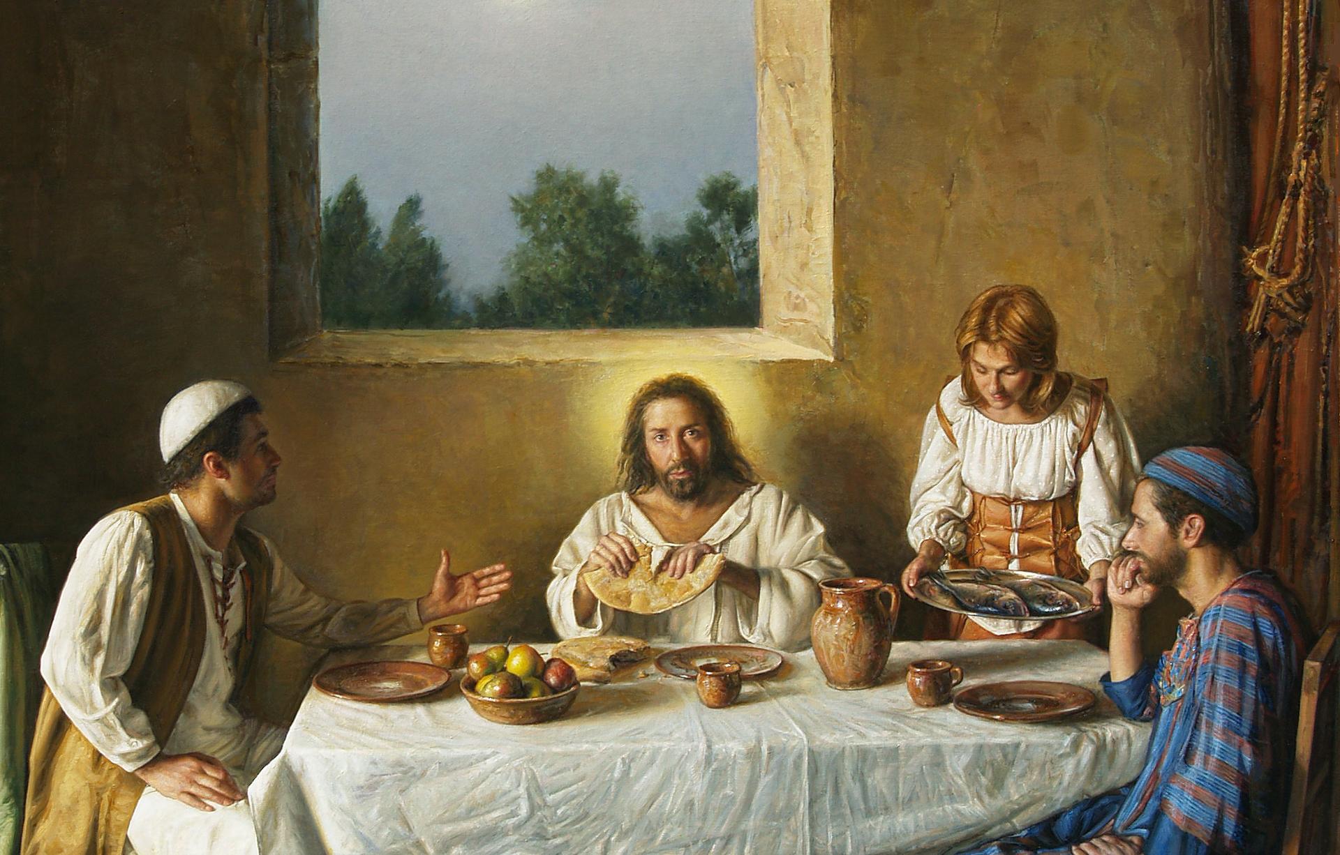 Come i discepoli di Emmaus...